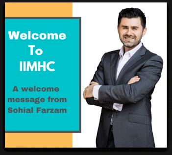 Welcome To IIMHC Sohial Farzam